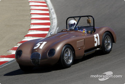 #51 1952 Jaguar C-Type, James Lustman