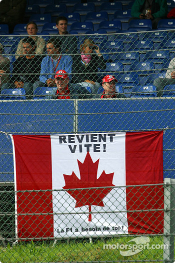 Message for Jacques Villeneuve