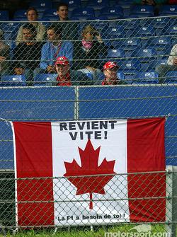 Message for Jacques Villeneuve
