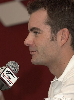 Jeff Gordon talks about the 2004 Race of Champions Nations Cup in Paris