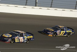 Michael Waltrip and Kurt Busch