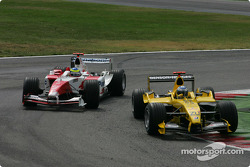 Nick Heidfeld and Ricardo Zonta
