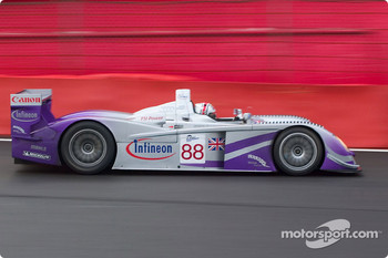 #88 Audi Sport UK Team Veloqx: Jamie Davies, Johnny Herbert