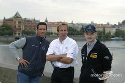 Manuel Reuter, Frank Biela and Jarek Janis