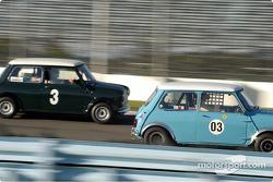 No 3 1964 Morris Cooper S and 03 1962 Morris Mini