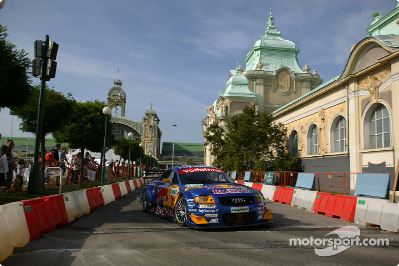 Abt-Audi race taxi in Prague