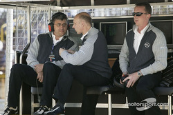 Ernst Moser, Volker Strycek and Frank Lynn