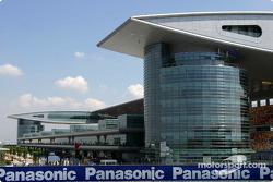 The spectacular Shanghai International Circuit architecture