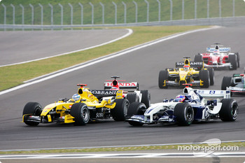 Nick Heidfeld and Timo Glock