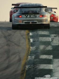 #43 BAM! Porsche 911 GT3 RSR: Leo Hindery, Lucas Luhr, Adam Jones