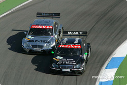 Gary Paffett and Jean Alesi