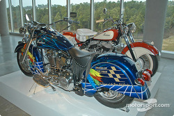 Indian motorcycles and Jeff Gordon motorcycle