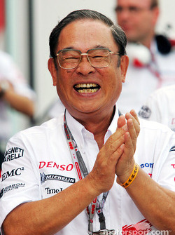 President of Toyota Motor Corporation Fujio Cho