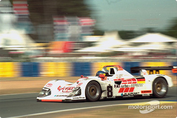 #8 Joest Racing TWR Porsche WSC 95: Didier Theys, Michele Alboreto, Pierluigi Martini