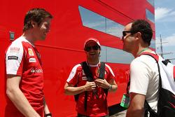 Rob Smedly, Scuderia Ferrari, Chief Engineer of Felipe Massa, Felipe Massa, Scuderia Ferrari
