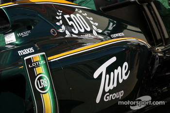 Lotus celebrate there 500th race