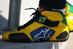 Rubens Barrichello, Williams F1 Team racing boots