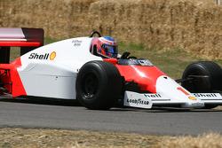 1986 McLaren Tag MP4/2C (Alain Prost): Jenson Button
