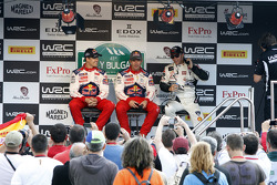 Daniel Sordo, Sébastien Loeb and Petter Solberg
