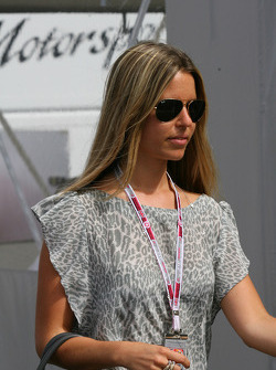 Vivian Sibold the girlfriend of Nico Rosberg