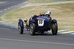 #55 Bugatti 51 1935: Léo de Malet Roquefort, Francis Courteix