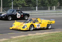 #45 Ferrari 512 M 1970: Dieter Roschmann, Dominik Roschmann