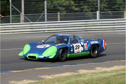#29 Alpine A 220 1969: Sylvain Stepak, Jean-Luc Blanchemain