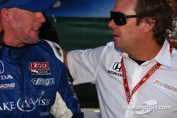 Paul Tracy, KV Racing Technology and Jimmy Vasser