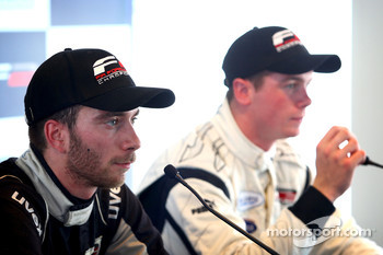 Press conference: race winner Philipp Eng, second place Tom Gladdis