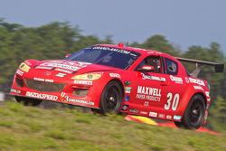 #30 Racers Edge Motorsports Mazda RX-8: Dave Lacey, Jordan Taylor