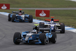 Fabio Leimer leads Johnny Cecotto and Max Chilton