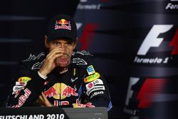 Press conference: third place Sebastian Vettel, Red Bull Racing