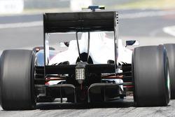 Sauber Rear diffuser