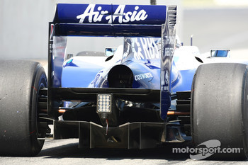 Williams Rear diffuser