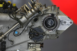 Hispania Racing F1 Team gear box detail