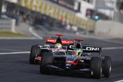 Alberto Valerio leads Luiz Razia