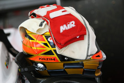 The helmet of Kazim Vasiliauskas