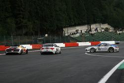 Spinning after La Source, #53 Muhlner Motorsport Porsche 911 GT3 RS GT3: Jürgen Häring, Dimitrios Konstantinou, Arnaud Peyroles, Gilles Vannelet