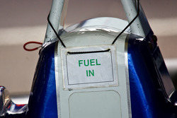 Fuel in sign