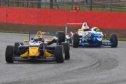 Jean-Eric Vergne leads James Calado