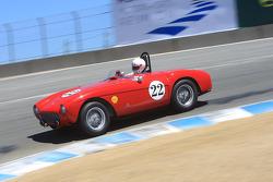 Jeff Abramson,1 954 Ferrari 500 MD PF Spider