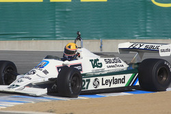 Group 9B race winner Charles E. Nearburg, 1981 Williams FW 07B