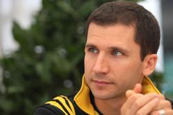 Remi Taffin, race engineer Renault F1 Team