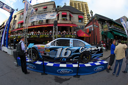Roush Racing Nationwide Ford at the Ford Racing Festival on Crescent Street