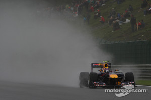 The unpredictable weather at Spa