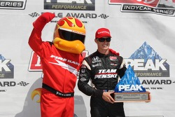 Pole winner Ryan Briscoe, Team Penske