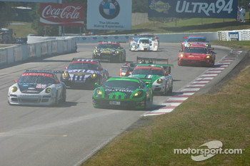Start of the 2010 Grand Prix of Mosport