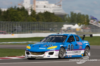 #40 Dempsey Racing Mazda RX-8: Charles Espenlaub, Joe Foster