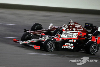 Helio Castroneves, Team Penske, Scott Dixon, Target Chip Ganassi Racing