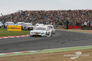 Start: Paul di Resta, Team HWA AMG Mercedes C-Klasse leads the field